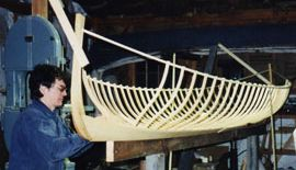 Guideboat frame