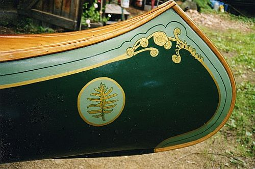 Kevin Martin Canoe Paint Designs
